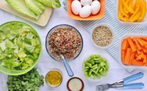 Рацион питания для похудения эффективно