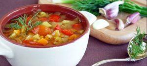 Суп для похудения в домашних условиях