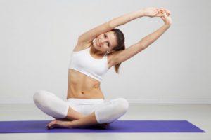 Гимнастика для похудения дома