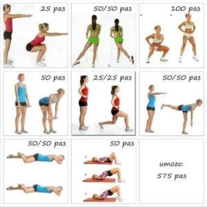 Зарядка для похудения эффективно