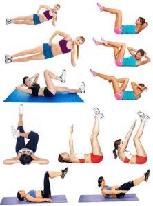 Комплекс упражнений для похудения эффективно