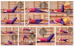 Как убрать живот за неделю упражнения очень быстро