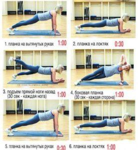 Как убрать живот за неделю упражнения эффективно