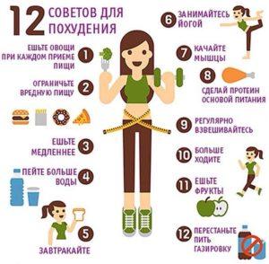 Советы как похудеть в домашних условиях
