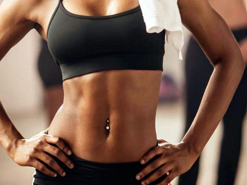 Как убрать жир с талии очень быстро